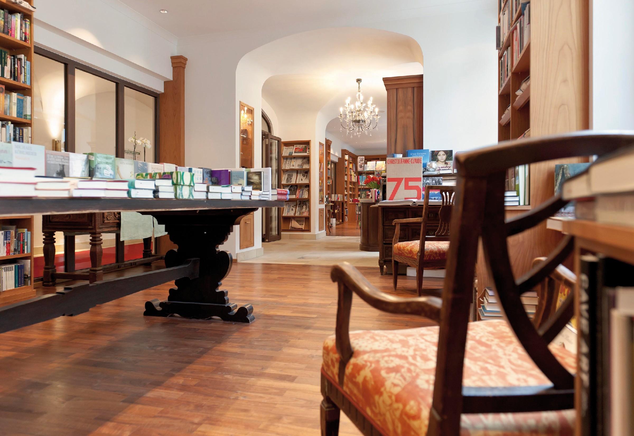 Bücherhotels liegen im Trend