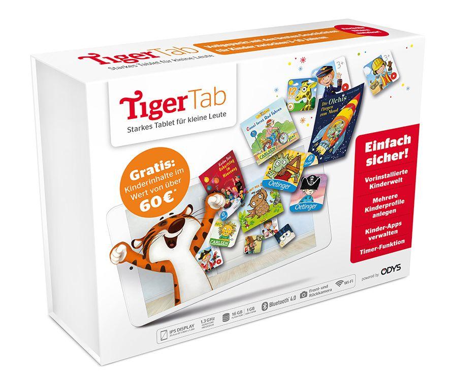 TigerBooks und Odys launchen ein Kindertablet