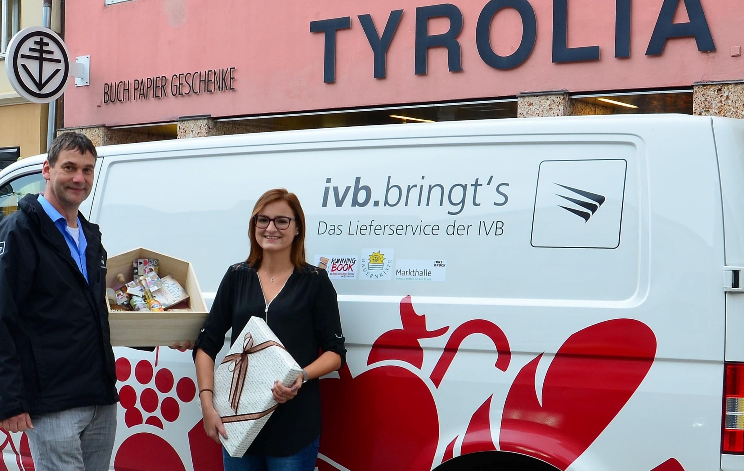 Tyrolia bietet taggleichen Liefer- und Geschenkservice an