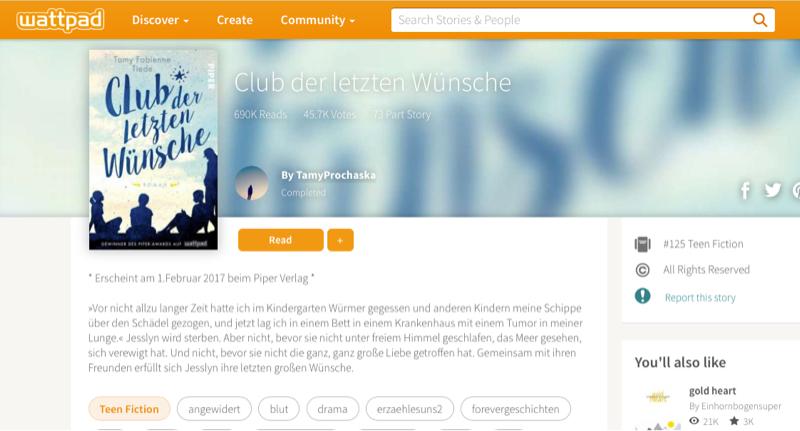Wattpad: Mit der Kraft der Community