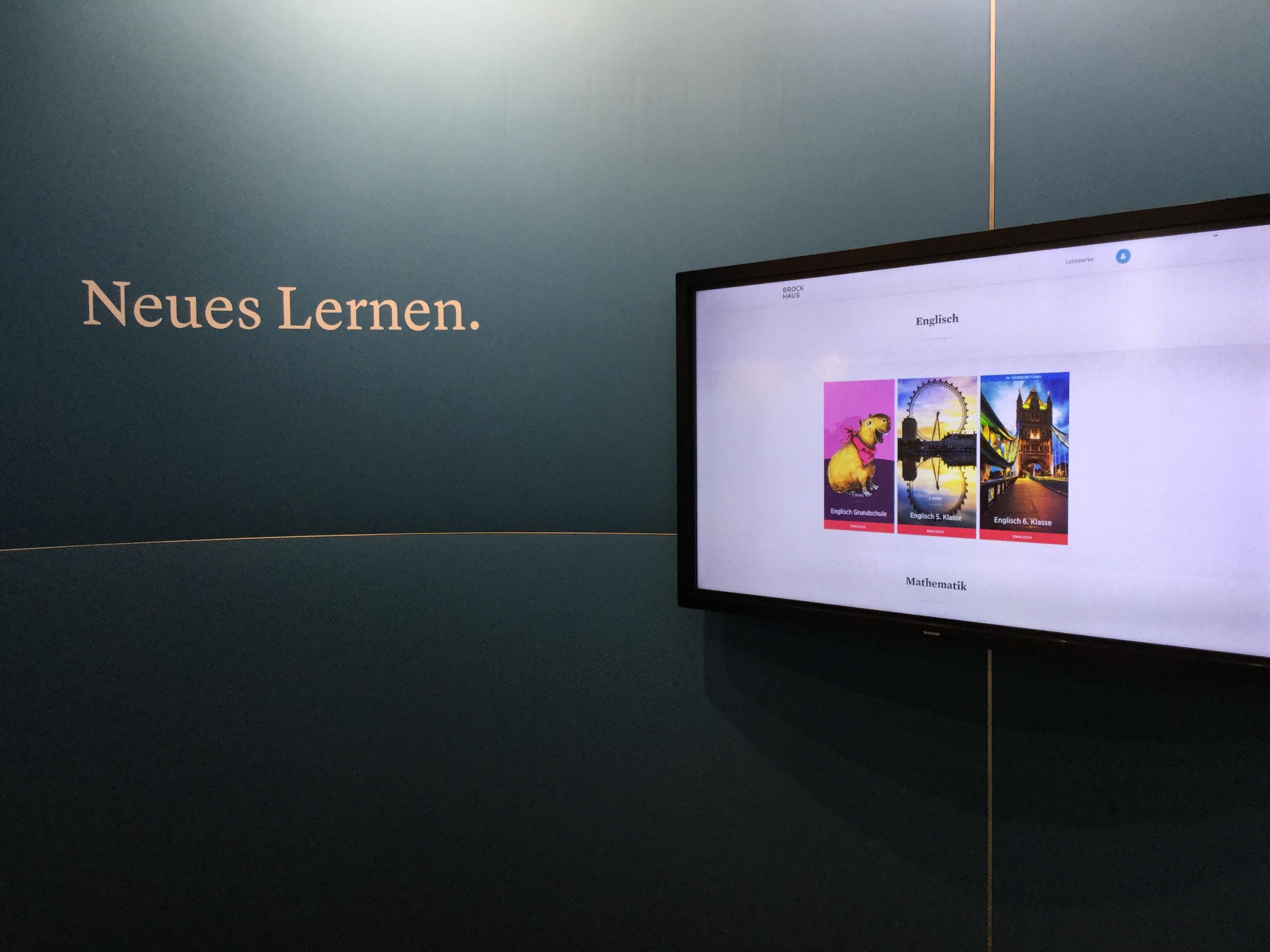 Brockhaus stellt digitale Lehrwerke vor
