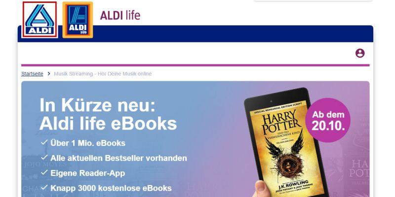 Was bedeutet Aldis E-Book-Offensive?