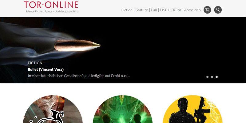 Tor Online bedient deutsche Phantastikfans