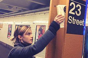 Emma Watson spielt im Untergrund Buchfee