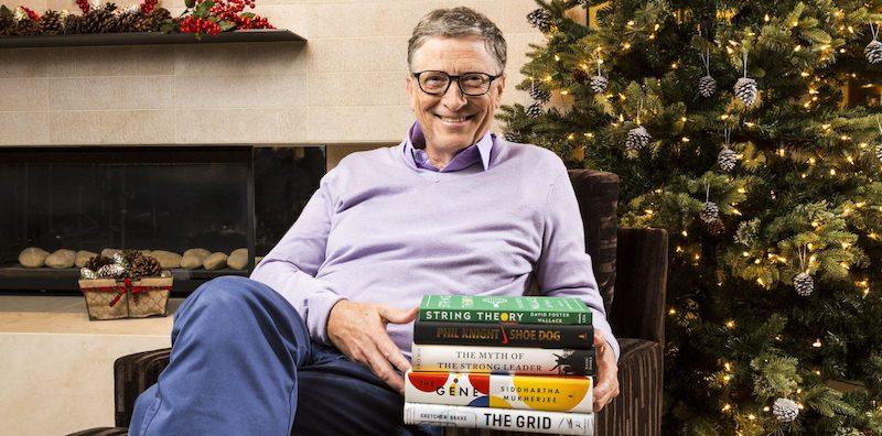 Das sind die 5 Lieblingsbücher 2016 von Bill Gates