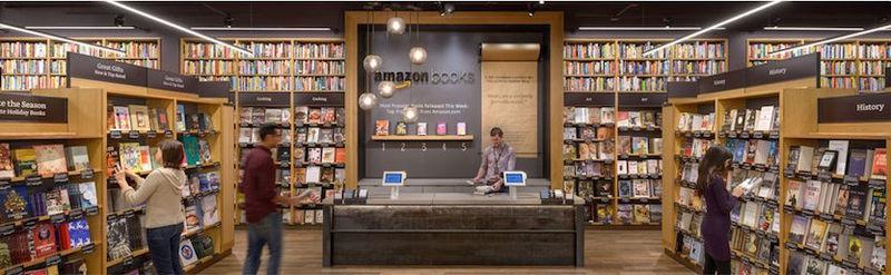 Amazon hatte 2015 seine erste physische Buchhandlung in Seattle eröffnet.