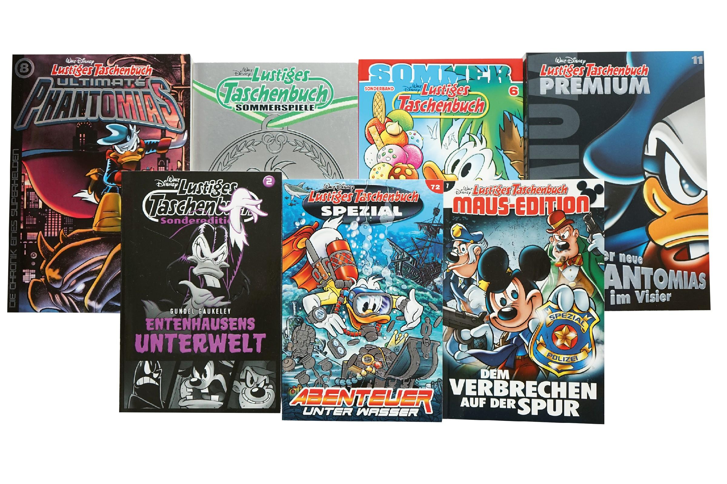 Starke Marke, große Produktfamilie: 50 Jahre »Lustiges Taschenbuch ...