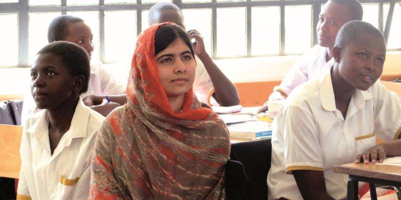 »Malala. Ihr Recht auf Bildung« im Fernsehen