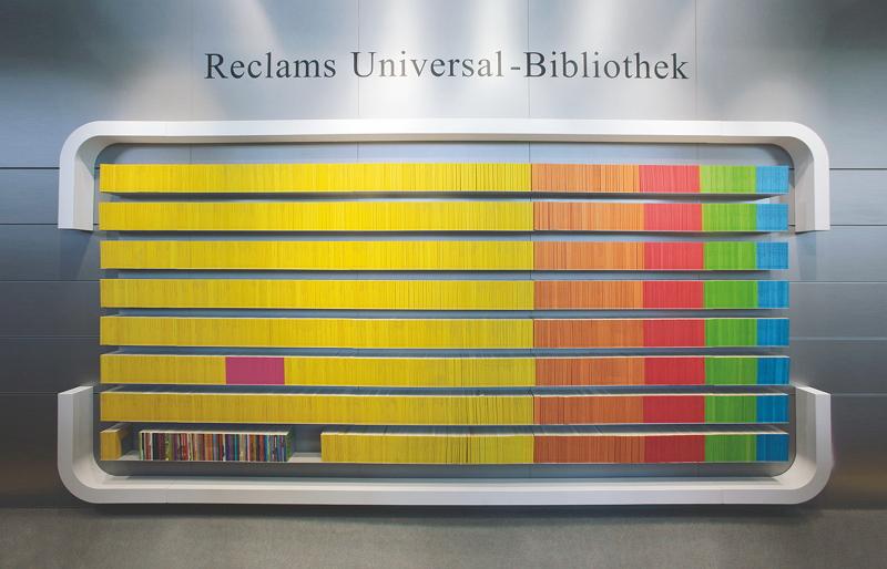 Prinzip Schnörkellos: Reclams Universalbibliothek bleibt sich treu. Bild: Verlag