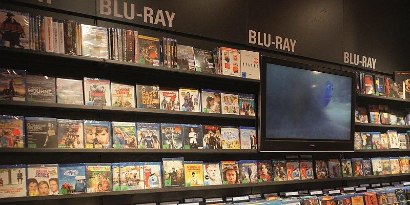 Videoumsätze im Buchhandel weiter rückläufig - buchreport