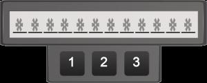 Abbildung 4: 12-stelliges Passwort aus 3 Zeichen