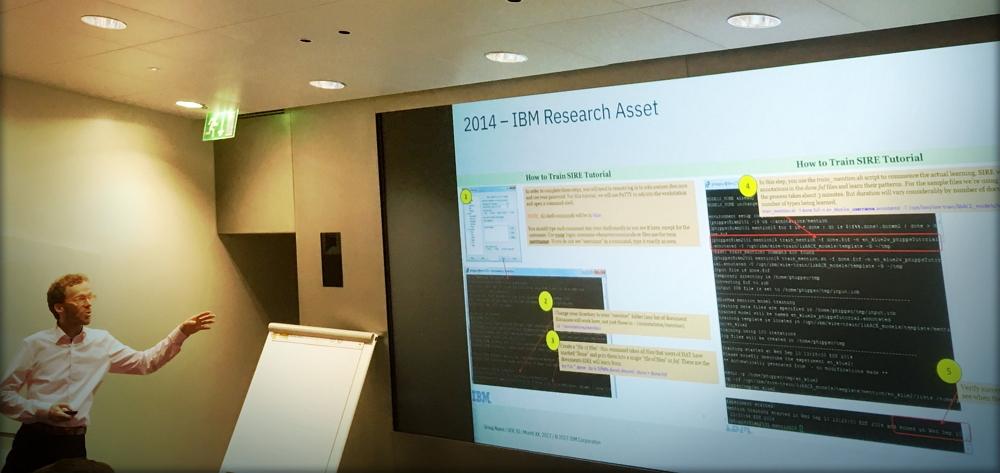 Stefan Mück, IBM. Foto: Markus Sauerwald.