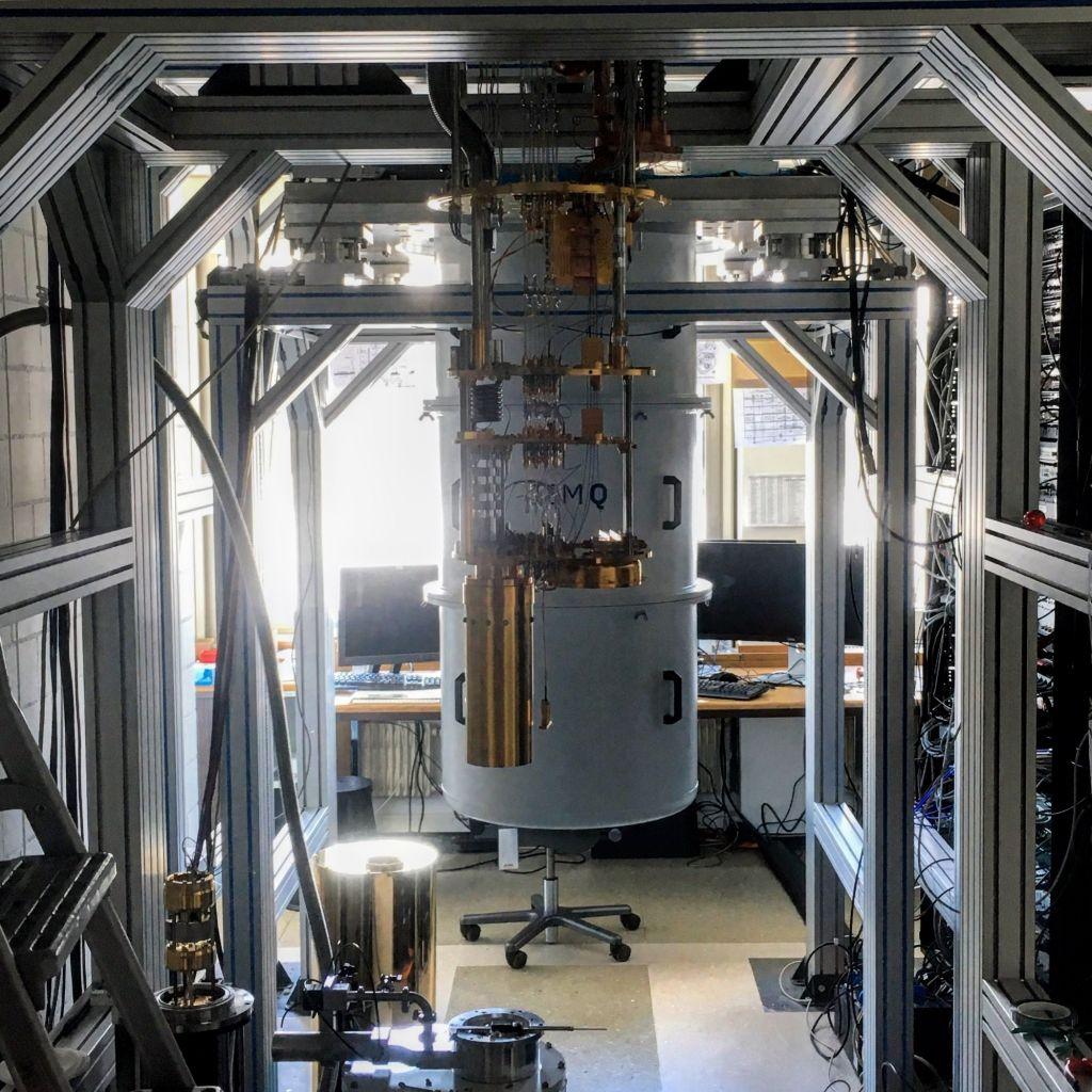 Quantencomputer wie dieser ermöglichen Watson erst. Foto: IBM.