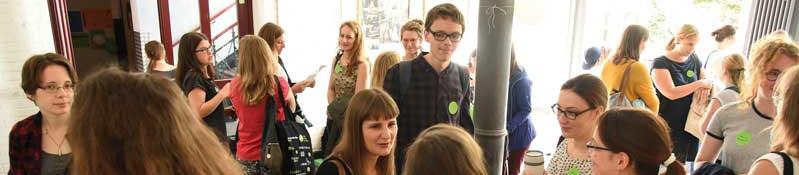 Junge Verlagsmenschen. Foto: Kai Mühleck.