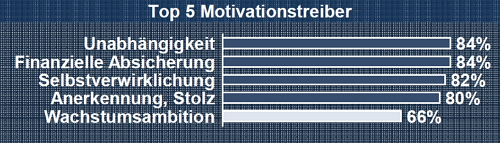 Keine Leidenschaft für Wachstum: KMU in Deutschland. Grafik: 1&1.