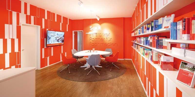 Sack bietet eine stationäre Heimat fürs zunehmend digitale Geschäft