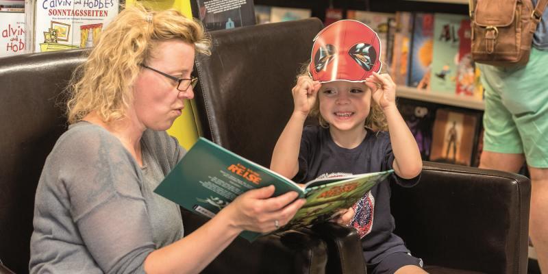 Comics für Kinder: Im Buchhandel gibt es noch Potenzial