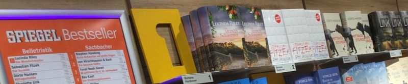 Buchhändler: Bestseller sind eher zu preisgünstig