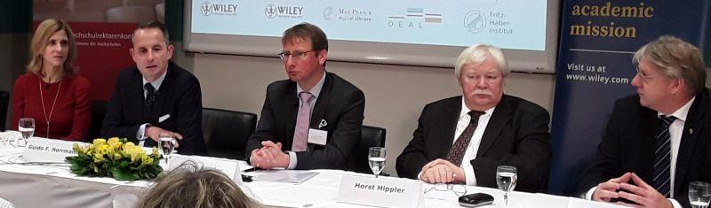 1. »Deal«: Wiley und Hochschulkonsortium einigen sich