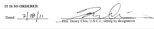 Signal von Chin