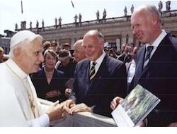 Rüge durch den Papst