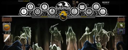 Alohomora Pottermore