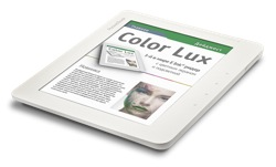 Palette frei für bunte E-Books