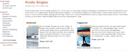 Amazon-Verlag debütiert in Deutschland