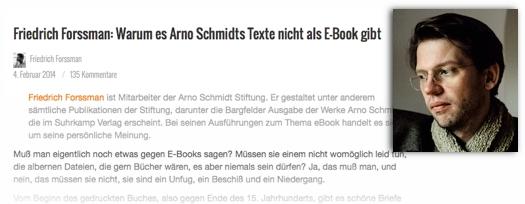 Ideale E-Books?  auf Papier gedruckt und fadengeheftet