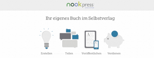 Nook Press landet in Deutschland