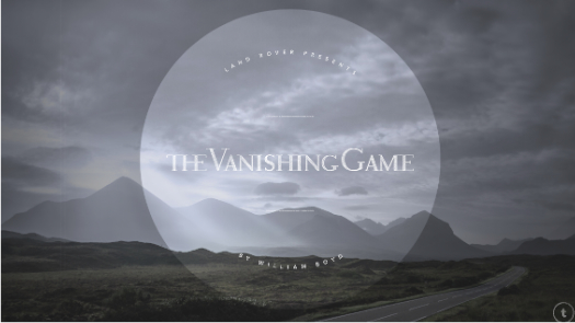 Storytelling powered by Land Rover