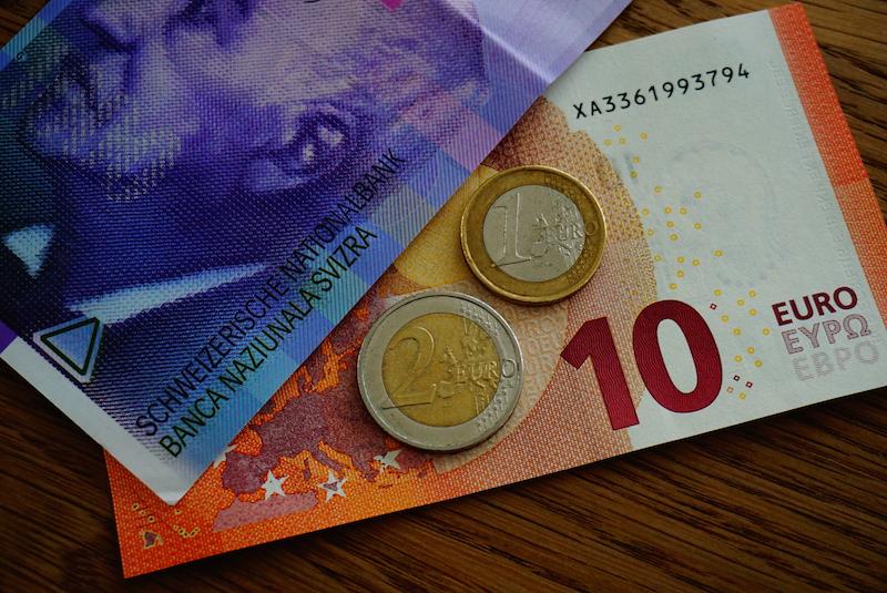 120 Schweizer Franken In Euro