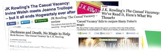 Rowling ist zu ihren Figuren grausam