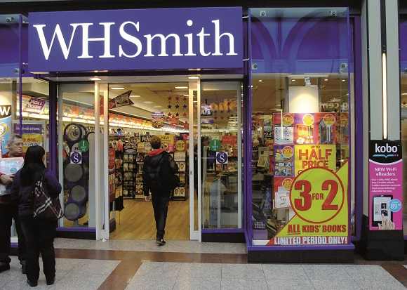 WH Smith landet in Deutschland