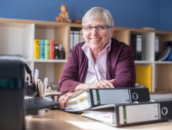 Irmgard Clausen (Foto: Hagen Lehmann)