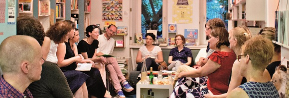 Literarischer Leseclub mit Quiz und Wodka