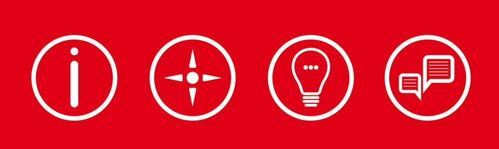 Informieren - orientieren - Ideen finden - mitreden