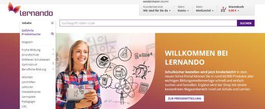 Online-Shop für Bildungsmedien