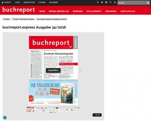 Ab sofort können Sie alle Inhalte der buchreport-Publikationen auch digital lesen, als E-Paper oder einzelner Artikel.