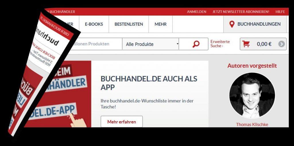 Shop-Portal wird abgeschaltet: Buchhandel.ade…