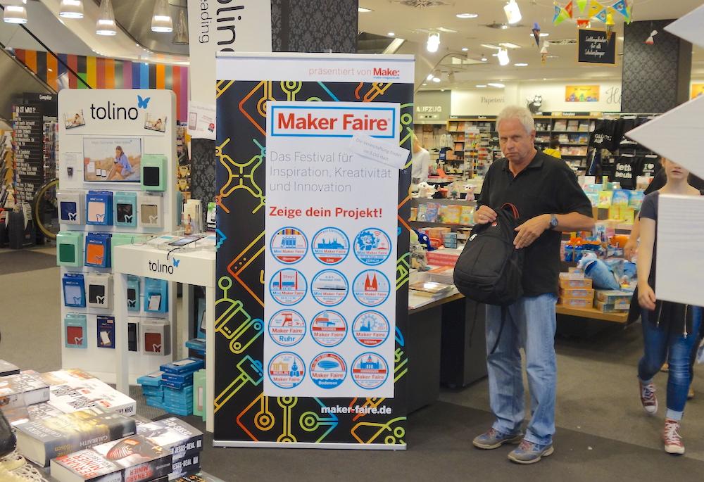 Mini Maker Faire Mayersche, Essen