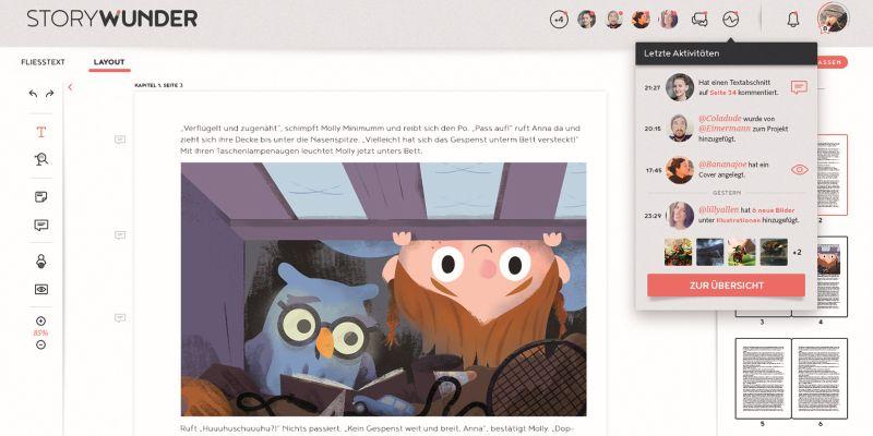 Storydocks startet Publishing-Plattform »Storywunder«