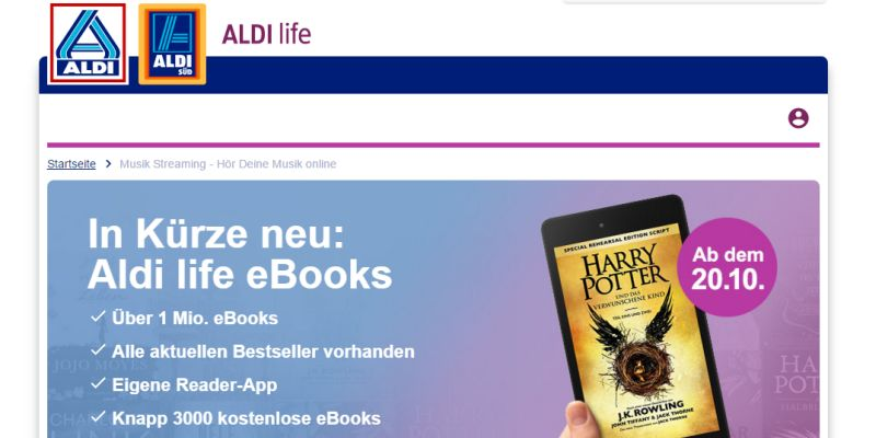 Was bedeutet Aldis E-Book-Offensive?