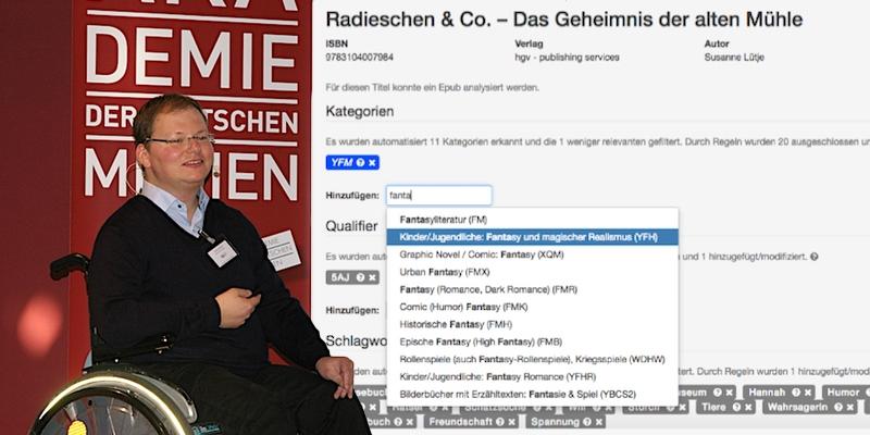 """Holtzbrinck: Wie Maschinen auf dem Metadaten-""""Schrottplatz"""" aufräumen"""