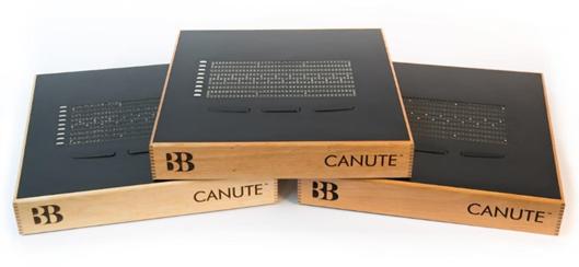 Fig: Der Gewinner des Sonderpreises Barrierefreiheit: Canute, ein E-Reader für Blinde