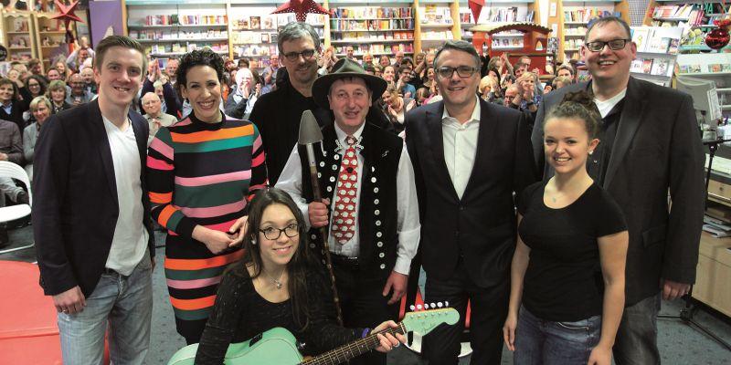 Buchhandlung Linnemann bietet Paderborner Persönlichkeiten ein Podium