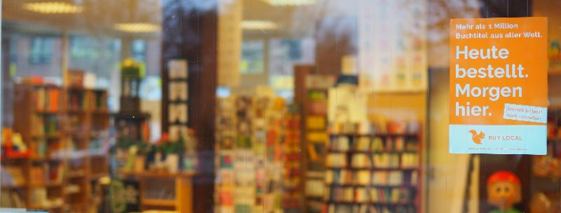 Türaufkleber für Libri-Buchhandlungen