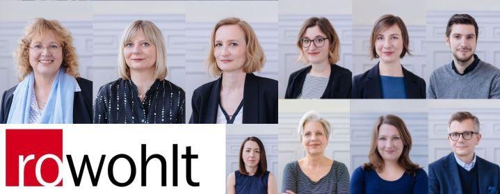 Neue Zuständigkeiten im Vertrieb, Marketing und Digital Publishing bei Rowohlt