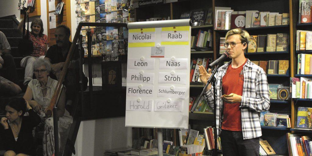 Poetry Slam? Ein Event mit Eigendynamik