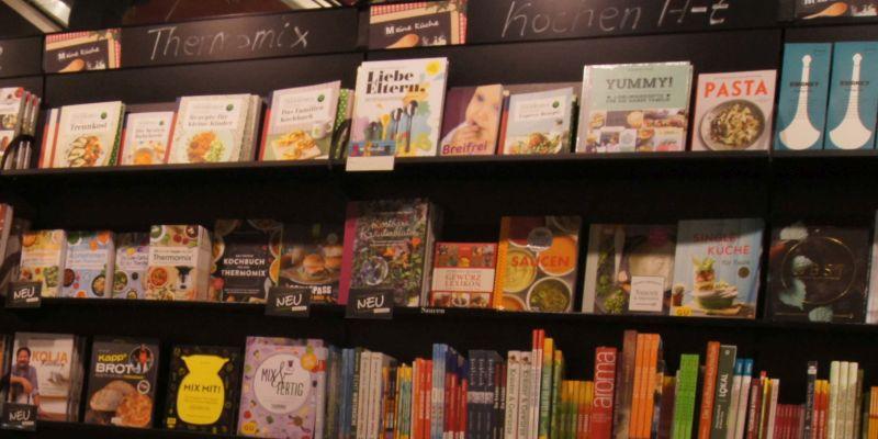 Kochbuchmarkt: »Ein Haifischbecken mit vielen Wettbewerbern«